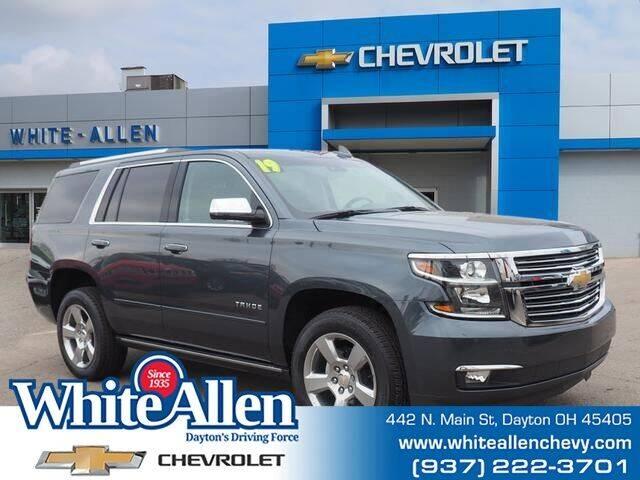 2019 Chevrolet Tahoe for sale at WHITE-ALLEN CHEVROLET in Dayton OH