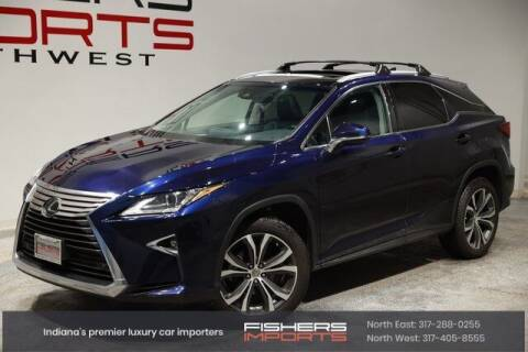 2017 Lexus RX 350 for sale at Fishers Imports in Fishers IN