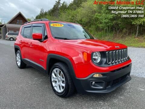 2018 Jeep Renegade for sale at Armenia Motors in Seymour TN