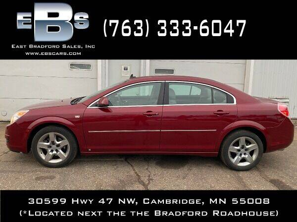 2008 Saturn Aura for sale at East Bradford Sales, Inc in Cambridge MN