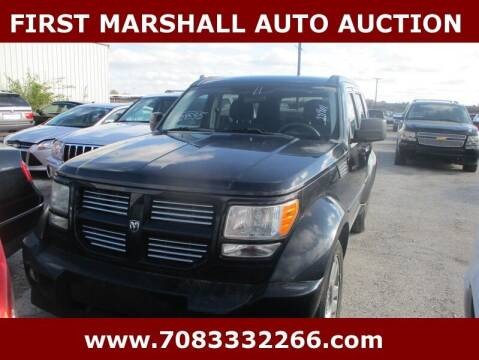 2011 Dodge Nitro for sale at First Marshall Auto Auction in Harvey IL