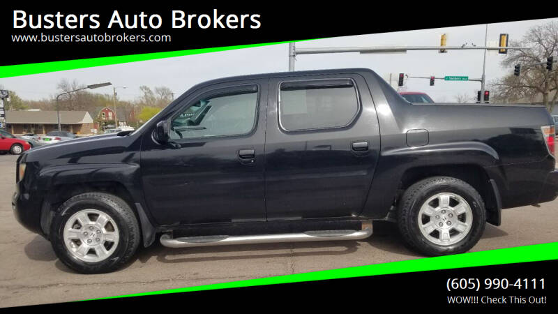 2008 Honda Ridgeline for sale at Busters Auto Brokers in Mitchell SD