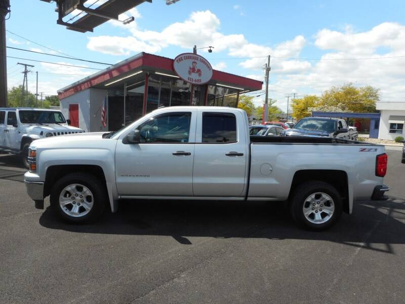 2014 Chevrolet Silverado 1500 for sale at The Carriage Company in Lancaster OH