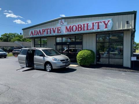 2005 Toyota Sienna for sale at Adaptive Mobility Wheelchair Vans in Seekonk MA