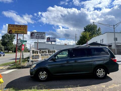 2005 Honda Odyssey for sale at Cherokee Auto Sales in Knoxville TN