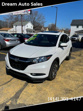 2018 Honda HR-V for sale at Dream Auto Sales in South Milwaukee WI