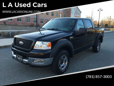 2005 Ford F-150 for sale at L A Used Cars in Abington MA