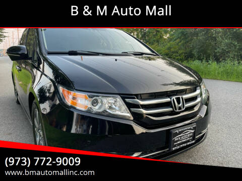 2014 Honda Odyssey for sale at B & M Auto Mall in Clifton NJ