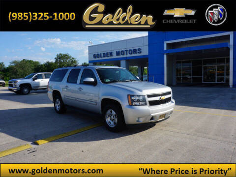 2013 Chevrolet Suburban for sale at GOLDEN MOTORS in Cut Off LA