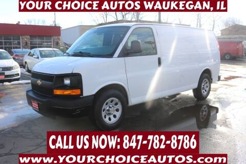 2013 Chevrolet Express Cargo for sale at Your Choice Autos - Waukegan in Waukegan IL