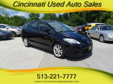 2010 Mazda MAZDA5 for sale at Cincinnati Used Auto Sales in Cincinnati OH