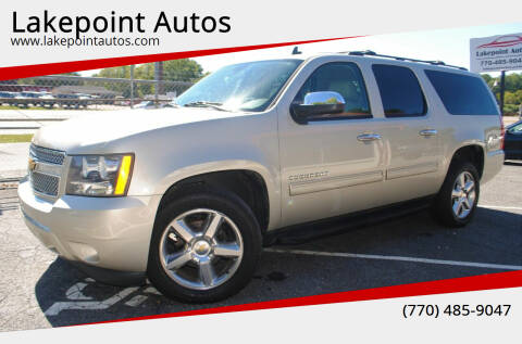 2014 Chevrolet Suburban for sale at Lakepoint Autos in Cartersville GA