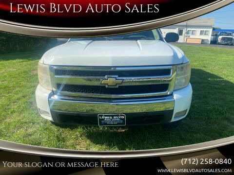2007 Chevrolet Silverado 1500 for sale at Lewis Blvd Auto Sales in Sioux City IA