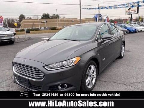 2016 Ford Fusion Energi for sale at Hi-Lo Auto Sales in Frederick MD