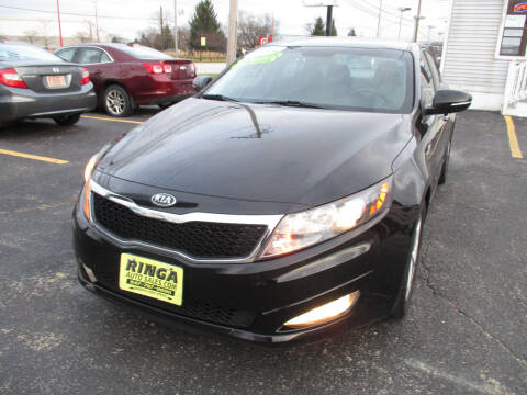 2013 Kia Optima for sale at Ringa Auto Sales in Arlington Heights IL