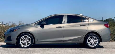 2019 Chevrolet Cruze for sale at Palmer Auto Sales in Rosenberg TX