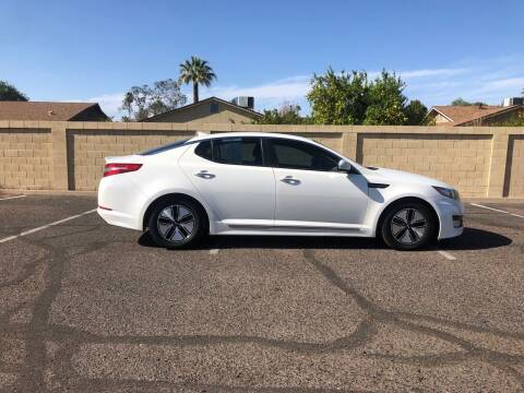 2012 Kia Optima Hybrid for sale at UR APPROVED AUTO SALES LLC in Tempe AZ