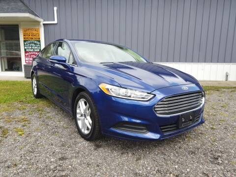 2016 Ford Fusion for sale at RS Motors in Falconer NY
