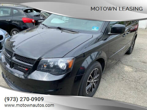 2015 Dodge Grand Caravan for sale at Motown Leasing in Morristown NJ