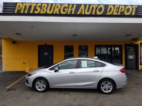 2019 Chevrolet Cruze for sale at Pittsburgh Auto Depot in Pittsburgh PA