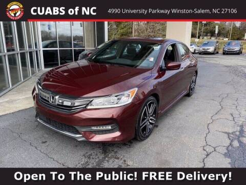 2017 Honda Accord for sale at Credit Union Auto Buying Service in Winston Salem NC