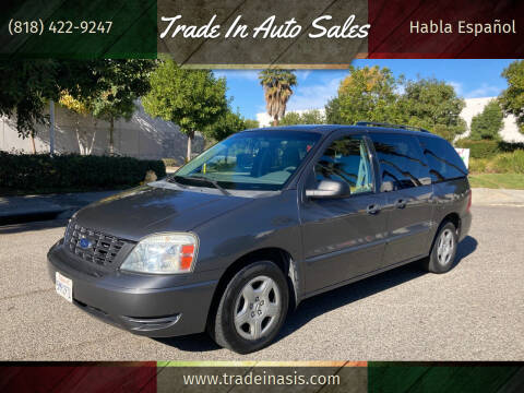 2005 Ford Freestar for sale at Trade In Auto Sales in Van Nuys CA