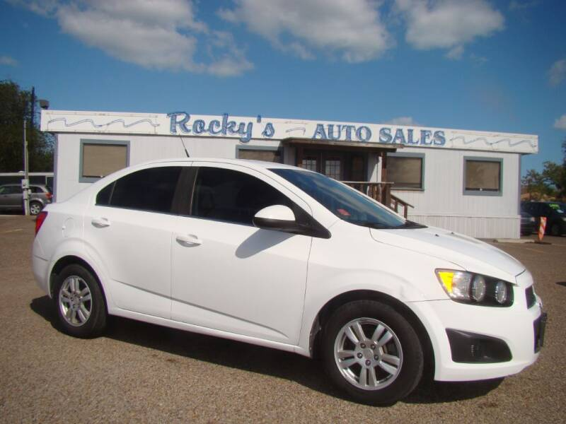 2014 Chevrolet Sonic for sale at Rocky's Auto Sales in Corpus Christi TX