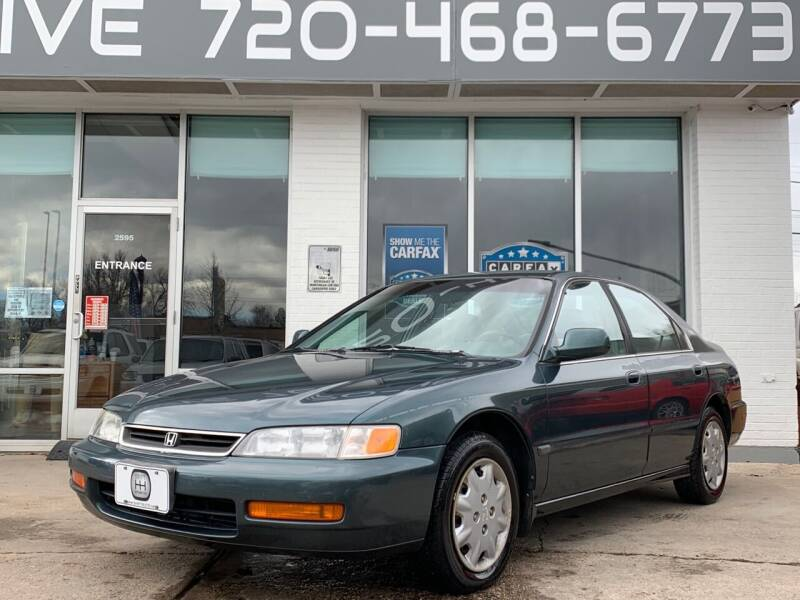 1996 Honda Accord for sale at Shift Automotive in Denver CO