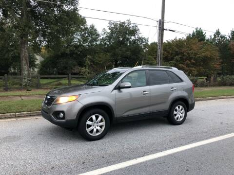 2011 Kia Sorento for sale at Judex Motors in Loganville GA