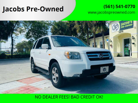 2006 Honda Pilot for sale at Jacobs Pre-Owned in Lake Worth FL