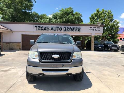 2006 Ford F-150 for sale at Texas Auto Broker in Killeen TX