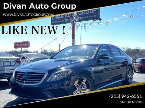 2015 Mercedes-Benz S-Class for sale at Divan Auto Group in Feasterville Trevose PA