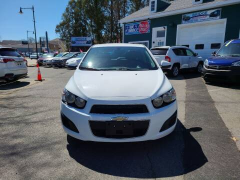 2016 Chevrolet Sonic for sale at Bridge Auto Group Corp in Salem MA