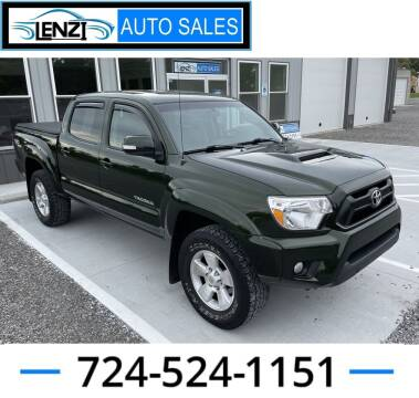 2013 Toyota Tacoma for sale at LENZI AUTO SALES in Sarver PA