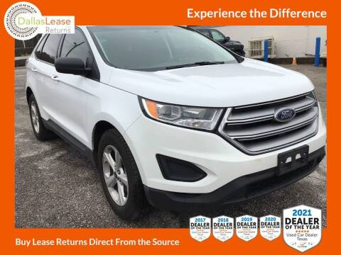 2018 Ford Edge for sale at Dallas Auto Finance in Dallas TX