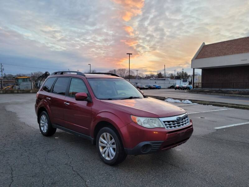 2012 Subaru Forester for sale at iDrive in New Bedford MA