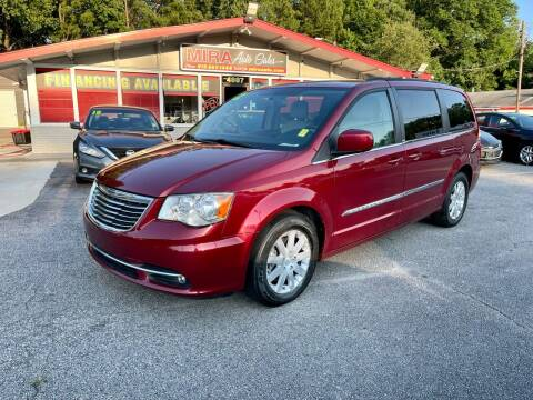 2012 Chrysler Town and Country for sale at Mira Auto Sales in Raleigh NC