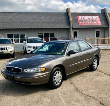 2003 Buick Century for sale at Stephen Motor Sales LLC in Caldwell OH