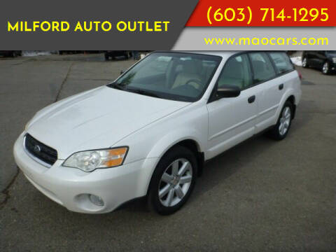 2007 Subaru Outback for sale at Milford Auto Outlet in Milford NH