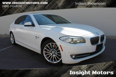 2011 BMW 5 Series for sale at Insight Motors in Tempe AZ