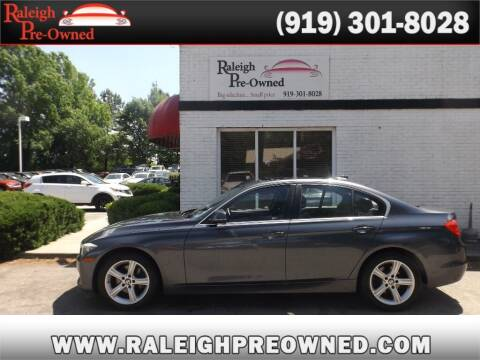 2015 BMW 3 Series for sale at Raleigh Pre-Owned in Raleigh NC