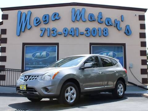 2013 Nissan Rogue for sale at MEGA MOTORS in South Houston TX