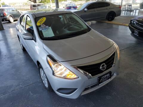 2017 Nissan Versa for sale at Sac River Auto in Davis CA