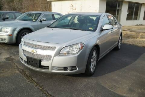 2011 Chevrolet Malibu for sale at Herman's Motor Sales Inc in Hurt VA