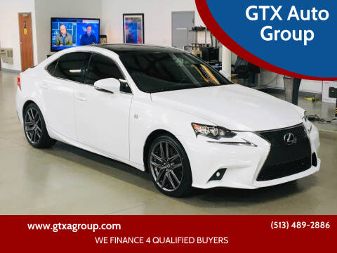 2014 Lexus IS 350 for sale at GTX Auto Group in West Chester OH
