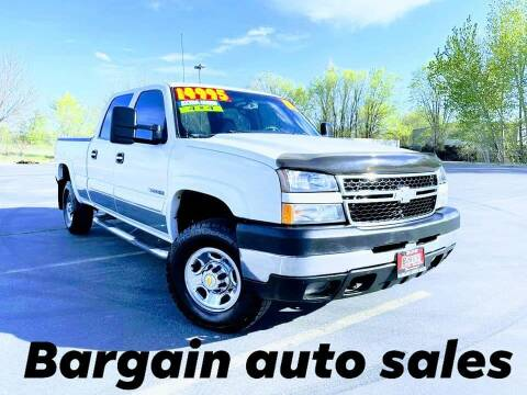 2006 Chevrolet Silverado 2500HD for sale at Bargain Auto Sales LLC in Garden City ID