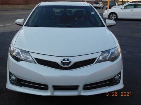 2012 Toyota Camry for sale at Southbridge Street Auto Sales in Worcester MA