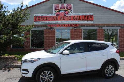 2018 Hyundai Tucson for sale at EXECUTIVE AUTO GALLERY INC in Walnutport PA