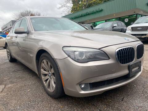2011 BMW 7 Series for sale at GREENLIGHT AUTO SALES in Akron OH