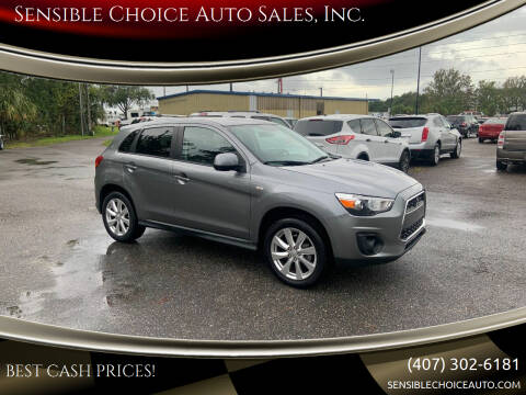 2013 Mitsubishi Outlander Sport for sale at Sensible Choice Auto Sales, Inc. in Longwood FL